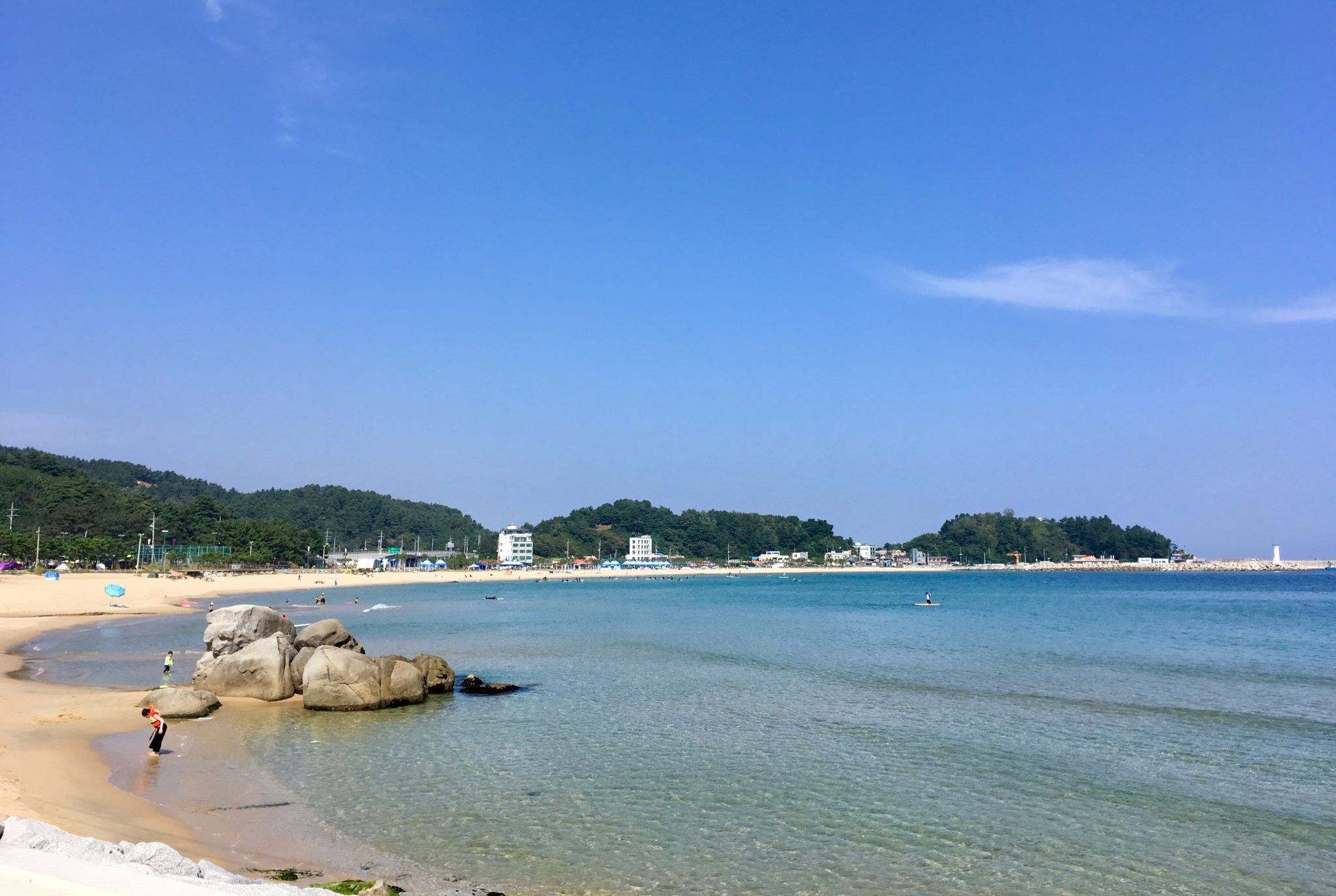 Playas coreanas